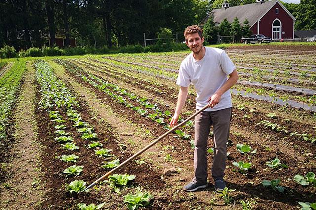 Jacob Weiss of Sacramento Valley Food Hub